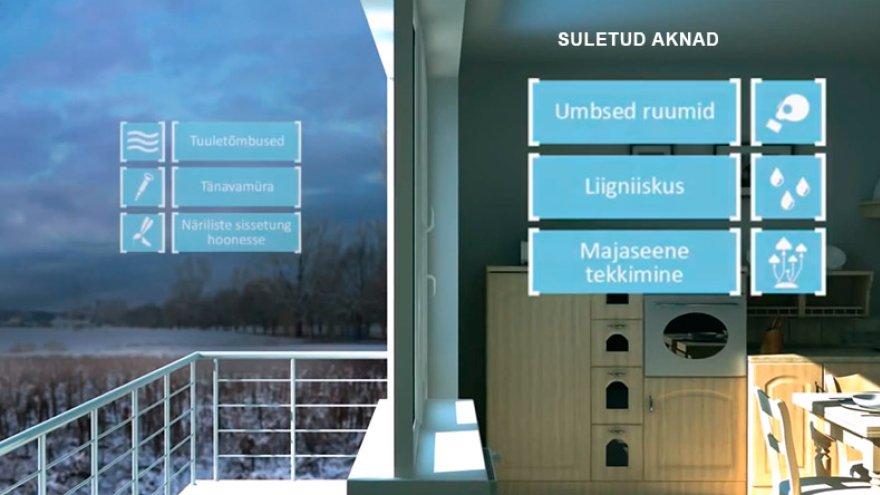 Kuidas on võimalik tagada ventileeritud tuba ja värske õhk ilma akent avamata